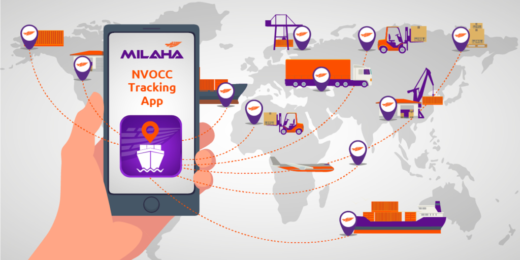 Milaha Launches NVOCC Tracking App for Smartphones